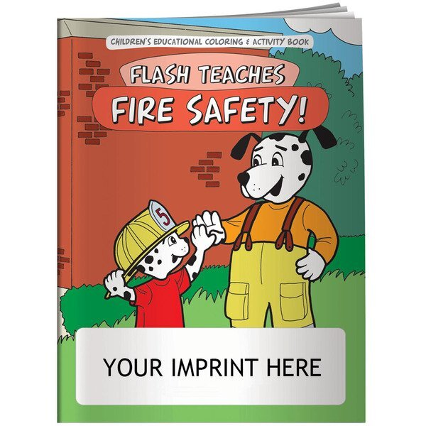 Flash Teaches Fire Safety Coloring & Activity Book
