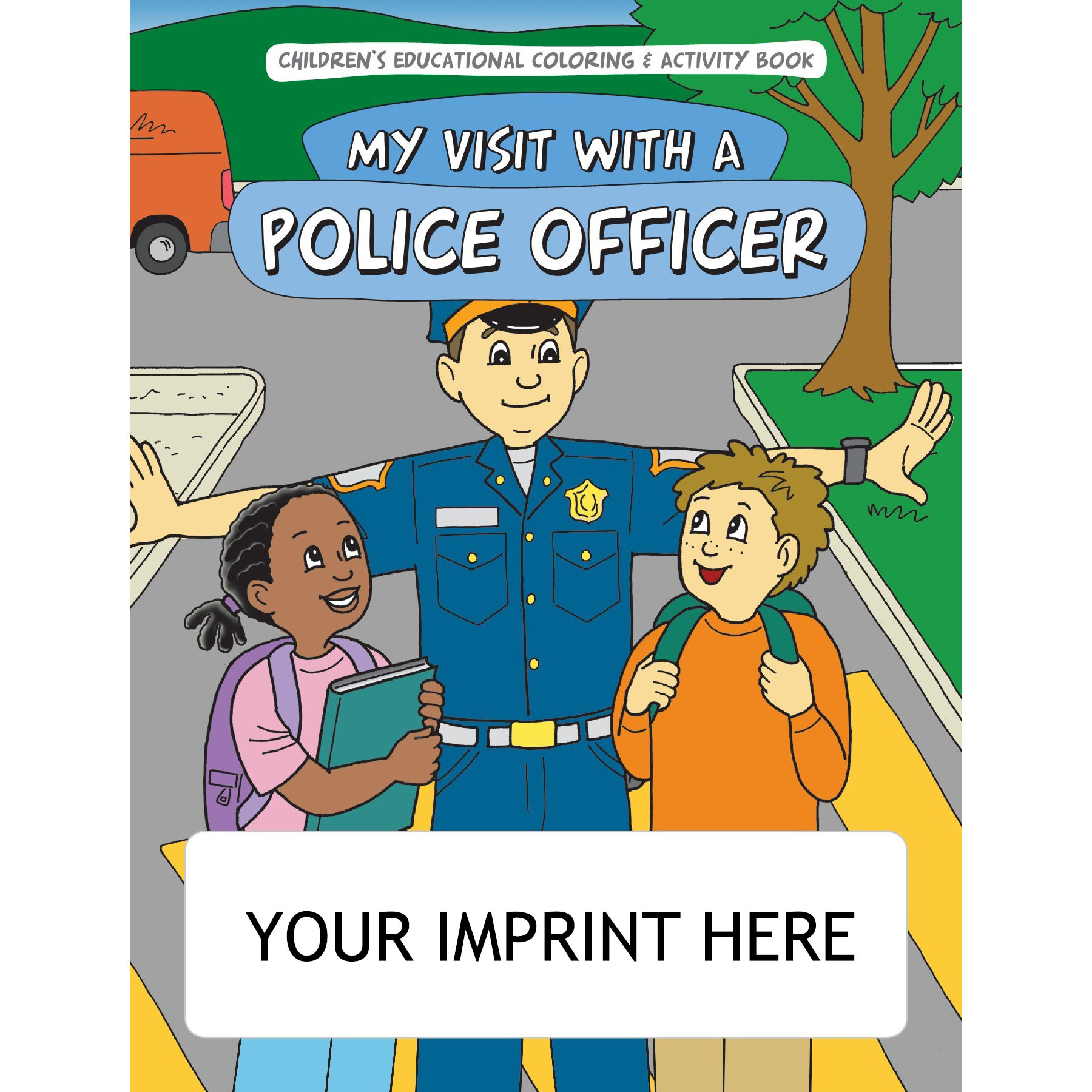 My Visit with a Police Officer Coloring & Activity Book
