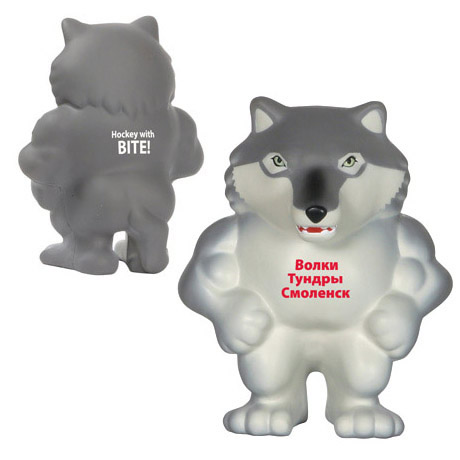 Wolf Mascot Stress Reliever