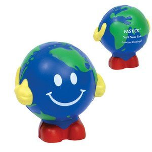 Earth Ball Man Stress Reliever
