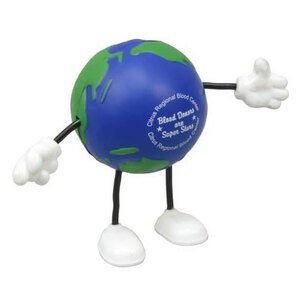 Earth Ball Figure Stress Reliever