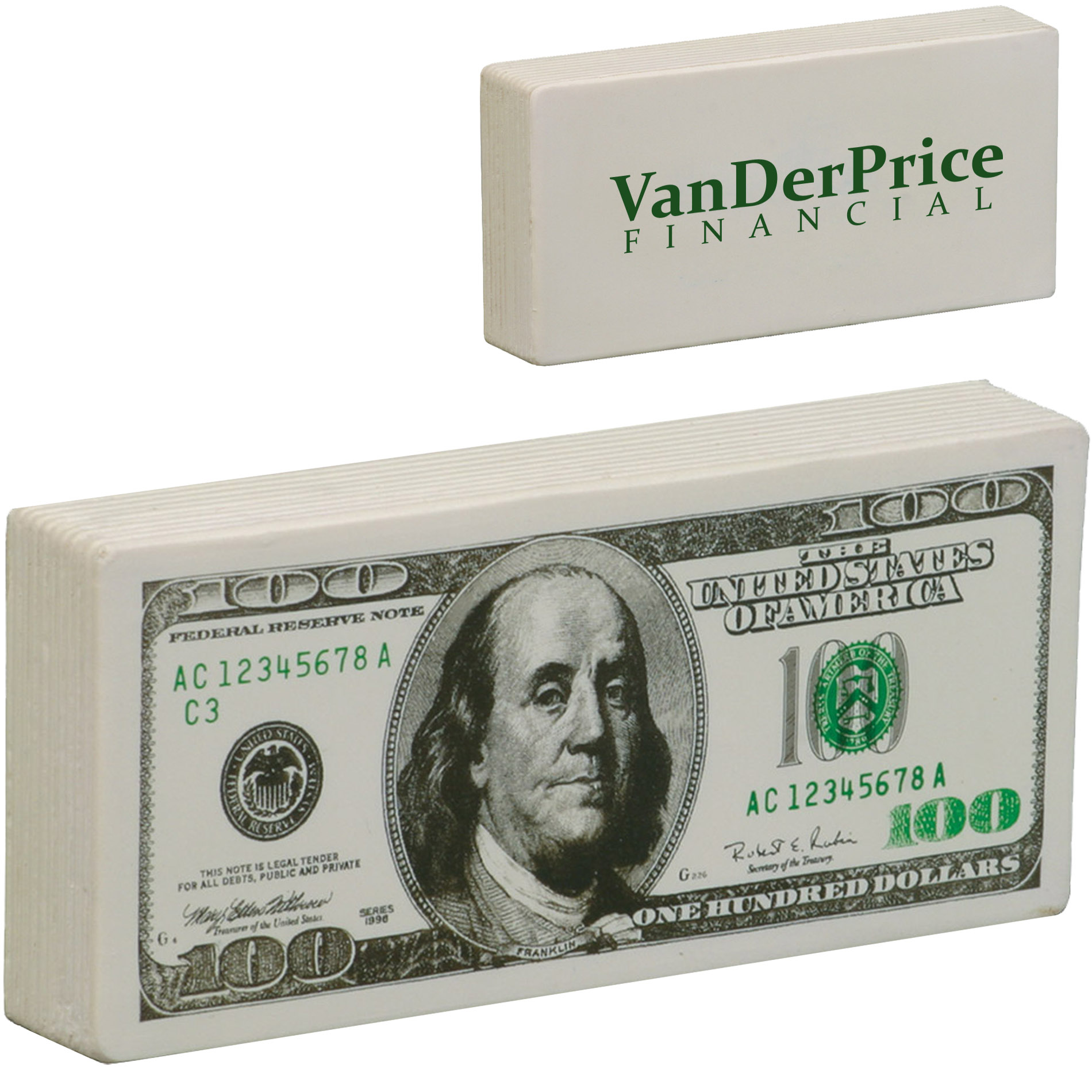 One Hundred Dollar Bill Stress Reliever