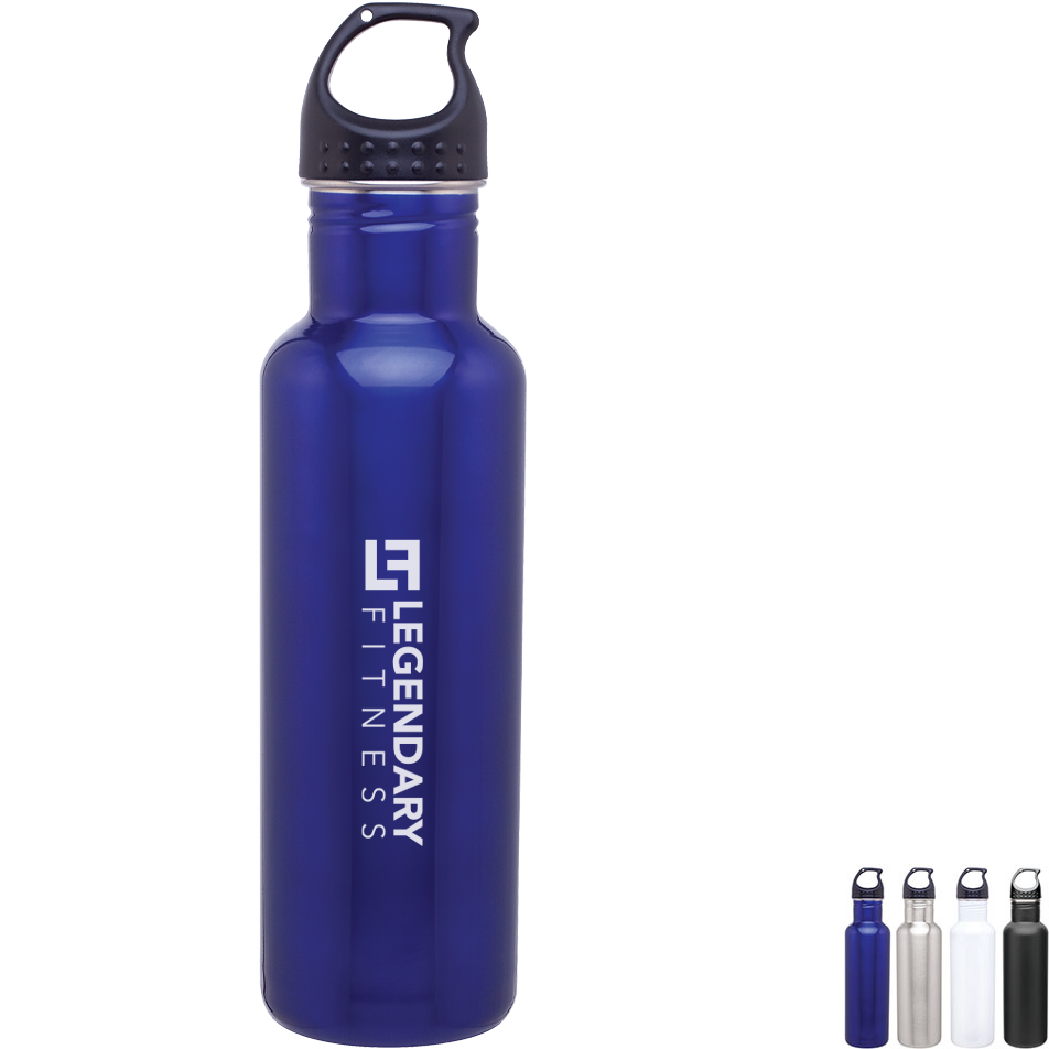 Thunder Stainless Steel Water Bottle, 24oz., BPA Free