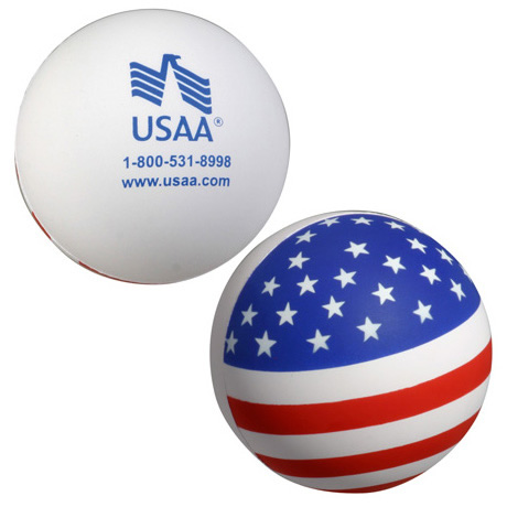 Patriotic Ball Stress Reliever
