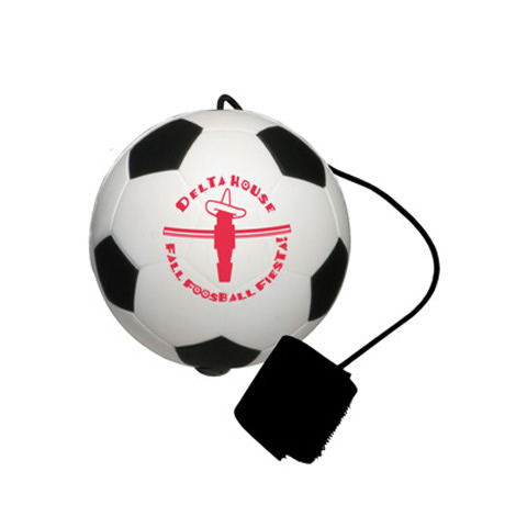 Soccer Ball Stress Shape Yo-Yo